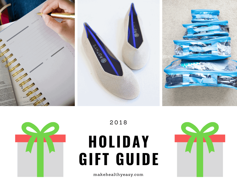 2018 Gift Guide from Make Healthy Easy