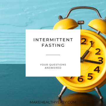 Intermittent Fasting - your questions answered