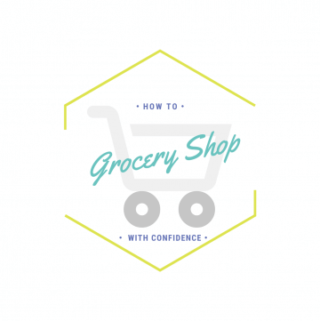 How to grocery shop with confidence logo