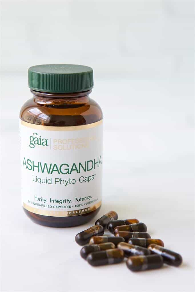 best supplements for stress - Ashwagandha capsules