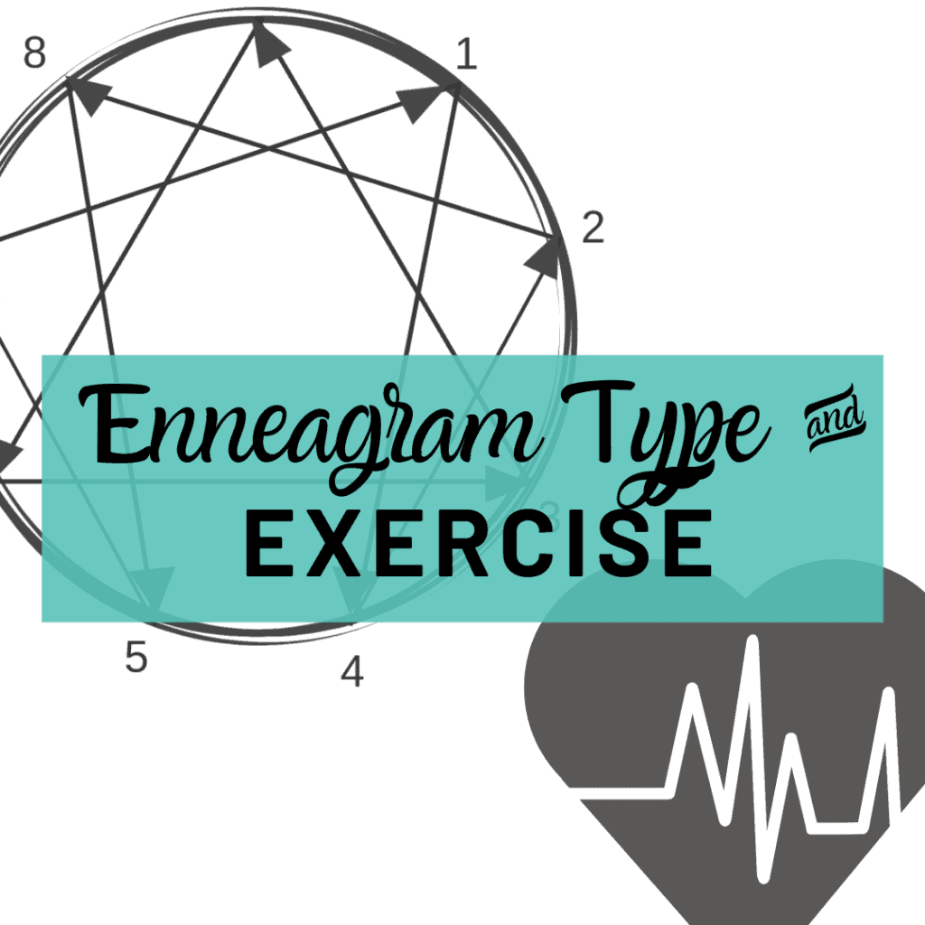 Enneagram type and exercise title