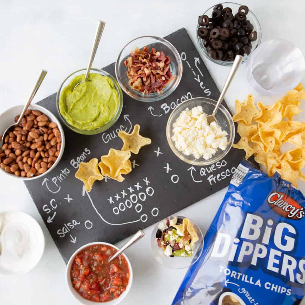 Super Bowl Make Ahead Appetizer Recipes Dip layer station
