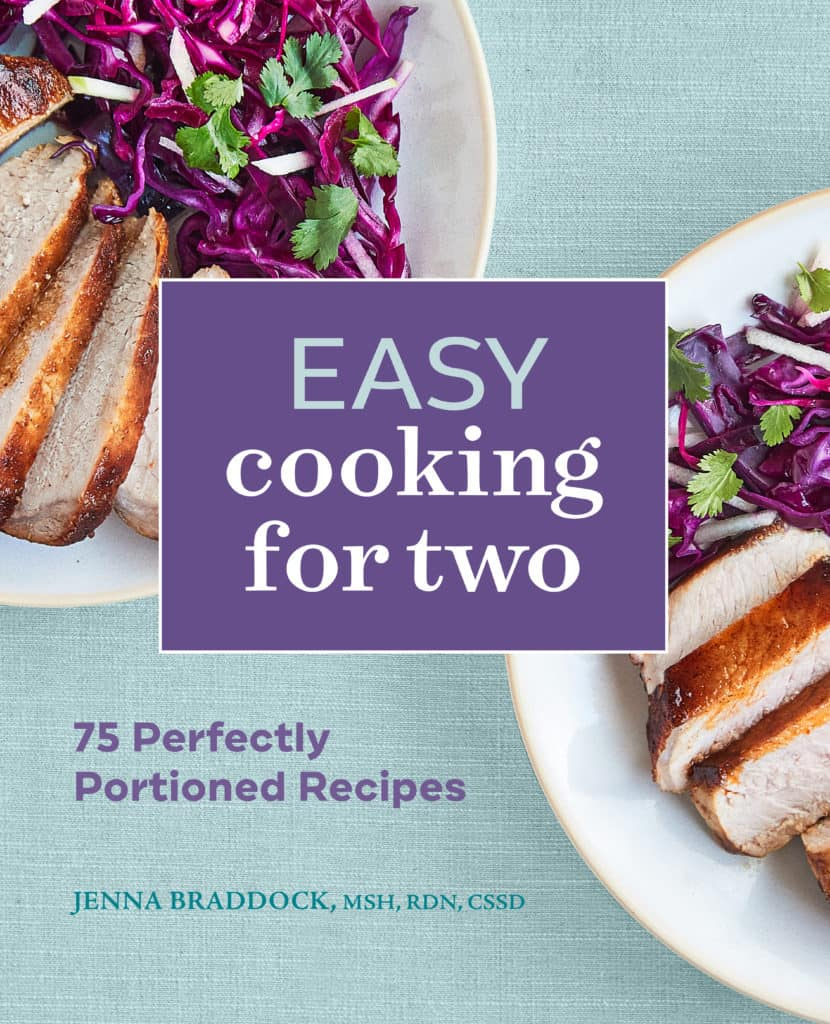 Jenna Braddock Cookbook Easy Cooking for Two