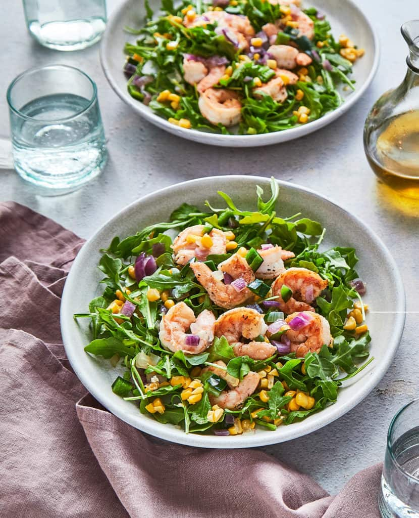 Jenna Braddock Cookbook Shrimp Poblano Salad