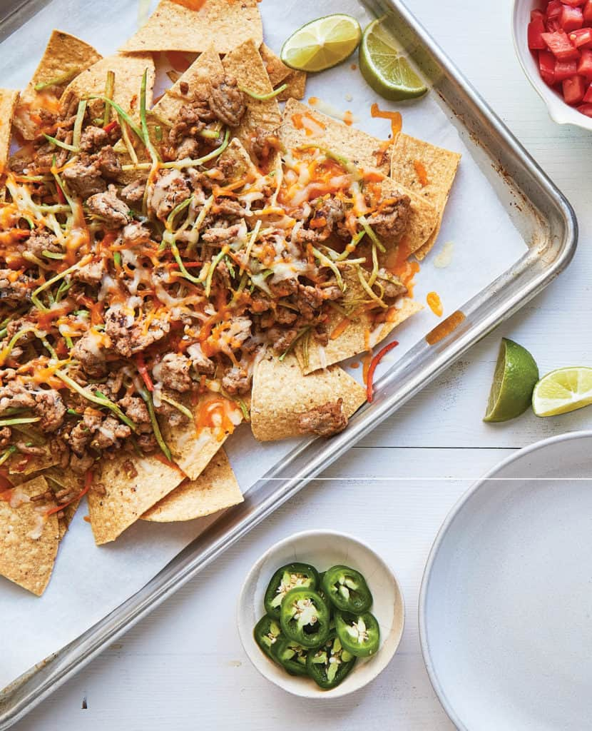Jenna Braddock Cookbook Turkey Adobo Nachos