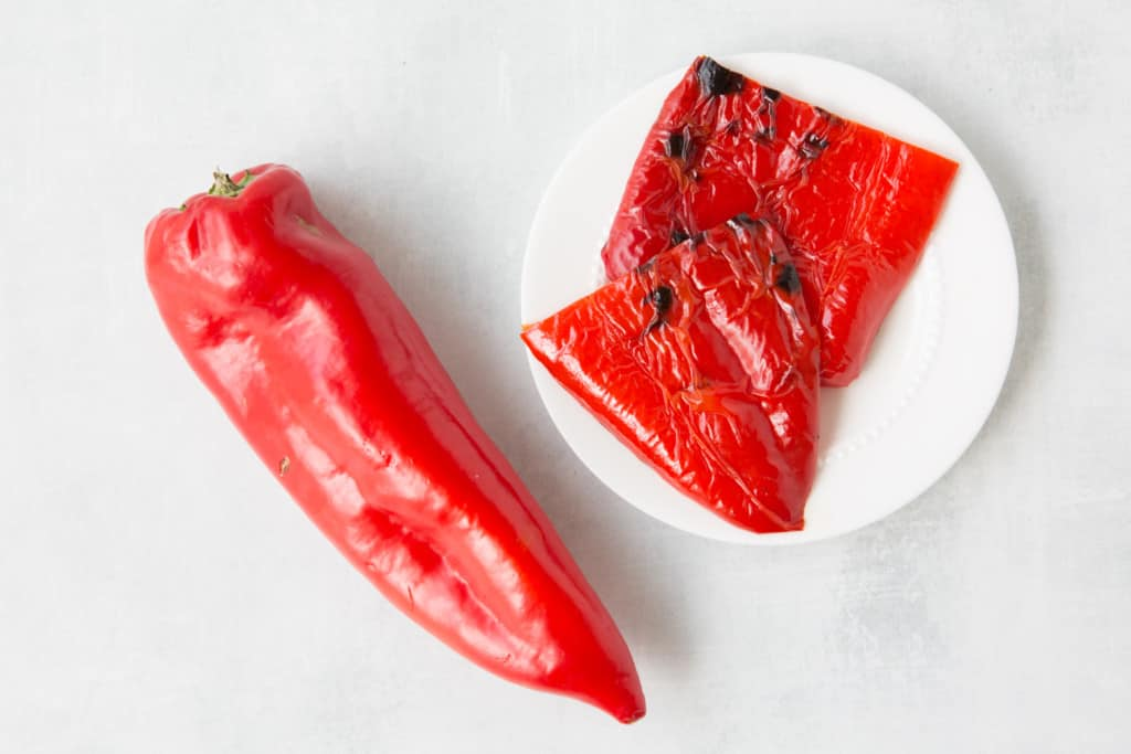 Red Grilling peppers