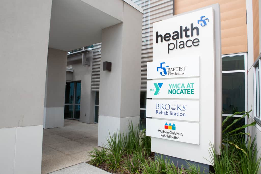 Baptist HealthPlace Nocatee sign