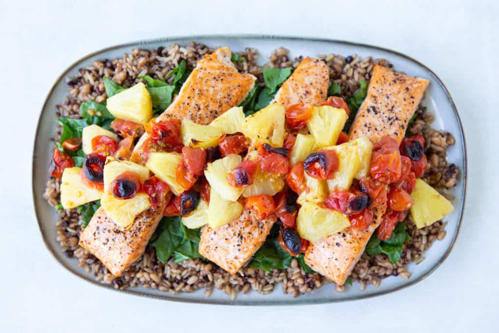 easy recipes for families salmon dinner